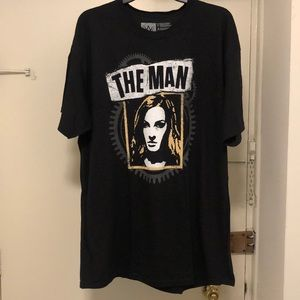 """WWE """"The Man"""" Becky Lynch Shirt size XL"""